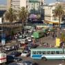 El tráfico en Nairobi es caótico