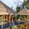 La Royal Villa del Oberoi Mauritius es magnífica y en ella destaca tanto su piscina privada como sus 650 m² de jardín