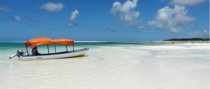 Playa de Zanzíbar en un Safari por Kenia y Tanzania