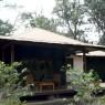 Las habitaciones del Arsuha Cofee Lodge son amplios chalets individuales en medio de un cafetal