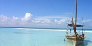 La isla de Mafia es un paraíso de playas de arena blanca cristalina