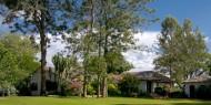 Los preciosos jardines son una de las señas de identidad del Plantation Lodge