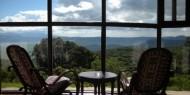 Las vistas son el principal activo del Ngorongoro Sopa Lodge