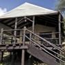 Kirawira Tented Camp cuenta con 25 lujosas tiendas que mezclan privacidad y confort con unas estupendas vistas