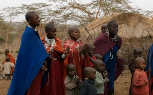 La comunidad masai es la propietaria del terreno de la concesión