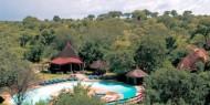Tarangire Sopa Lodge se encuentra situado en el interior del Parque Nacional de Tarangire