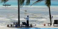 Las mareas son todo una delicia en Karafuu, nos ofrecen la posibilidad de disfrutar de dos playas distintas en un sólo día