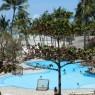 Vista de la piscina del hotel Karafuu, Zanzíbar