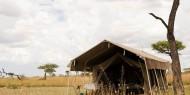 Serengeti Kati Kati Tented Camp es un campamento móvil situado en zona central del Serengeti