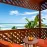 Desde el balcón de las Terrace Room del Meliá Zanzíbar se puede disfrutar de preciosas vistas