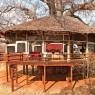 Las espectaculares habitaciones del Tarangire Treetops están construidas alrededor de impresio