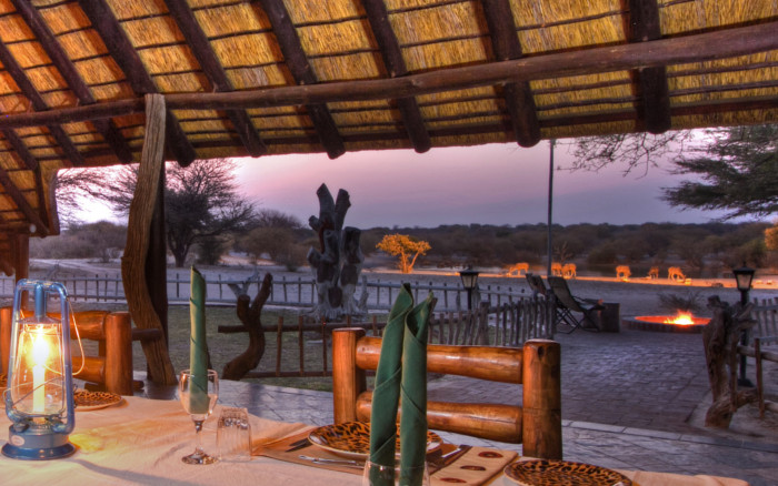 lodge safari África