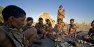 Los San, los bosquimanos del Kalahari,