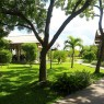 Paseo central del Chandría hotel donde podemos darnos como conjugar bosque tropical y hotel en uno