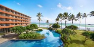 Hotel Hikka Tranz by Cinnamon, vistas de la piscina el mar y de los balcones