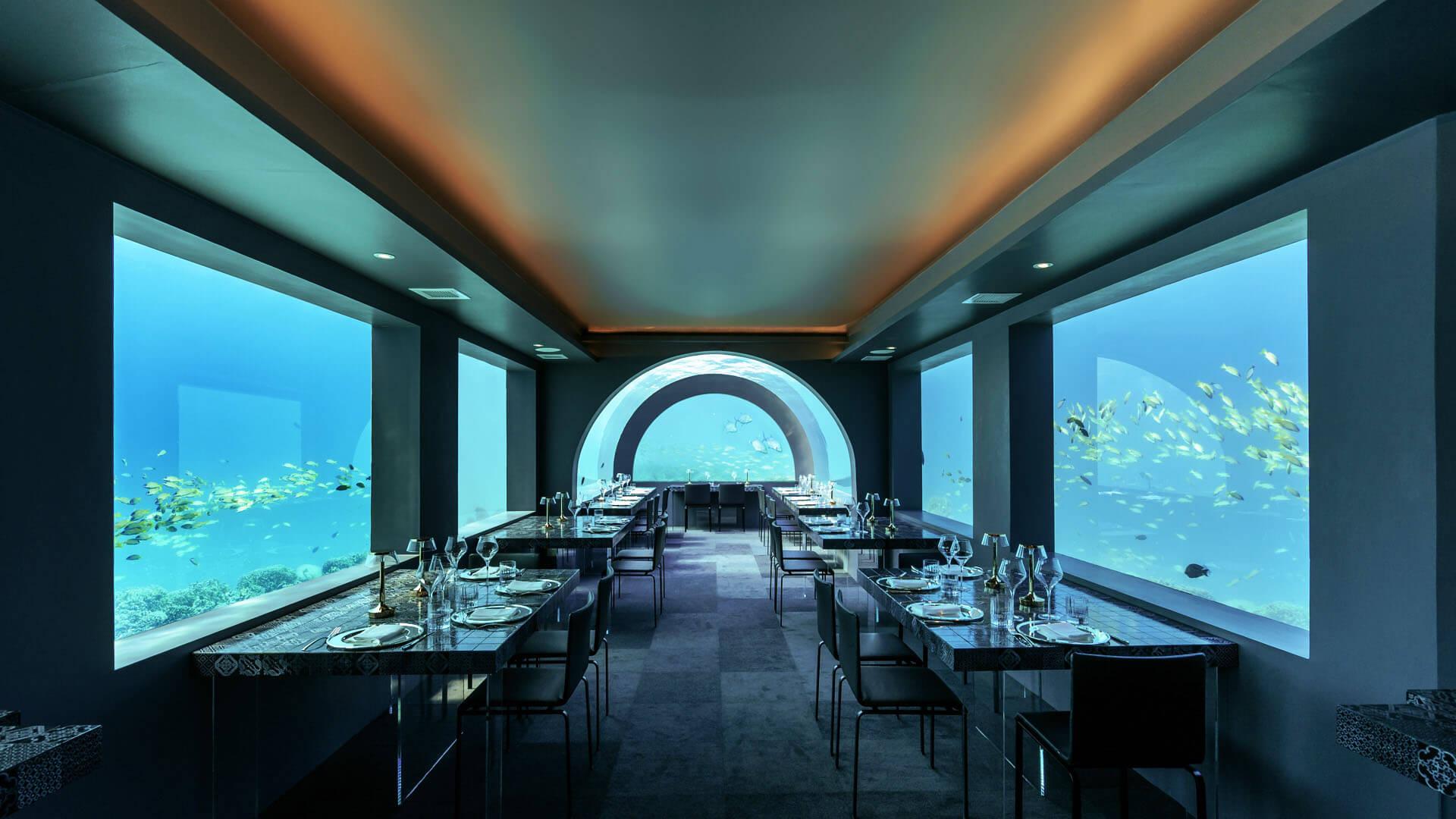 Restaurante H2O by chef Andrea Berton