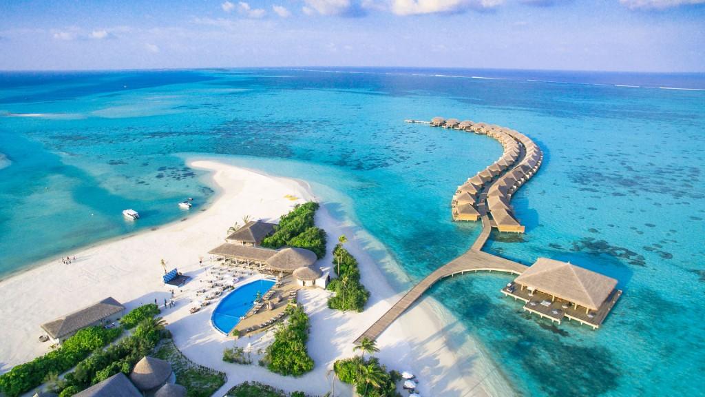 Cocoon Maldivas - Vista aérea