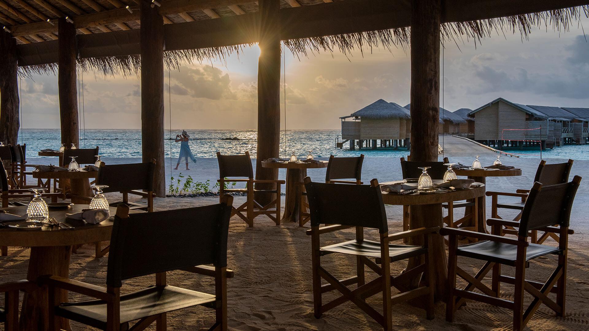Restaurante The Sand