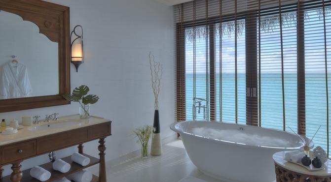 Water Villa, baño