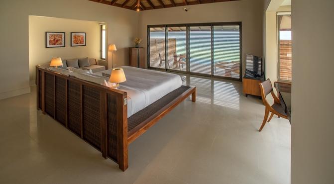 Water Pool Villa, dormitorio